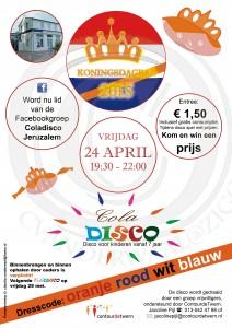 poster coladisco April koningsdag 444.indd wtrmrk