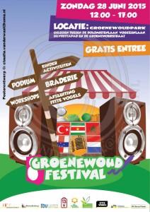 Poster groenewoudfestival 2015