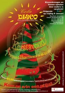Coladisco18 december Kerstavond boom