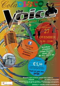 coladisco november the voice, so jou think jou can dance.wtmrk