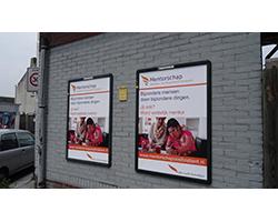 web billboard op huisje
